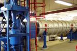 """A """"3R"""" zéró emissziós pirolízis berendezés, amelyet az ABC bioszén gyártására használnak"""